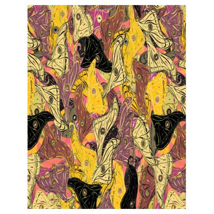 Butterfly Wings (Bold Yellow) Tray