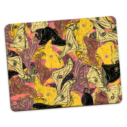 Butterfly Wings (Bold Yellow) Placemats