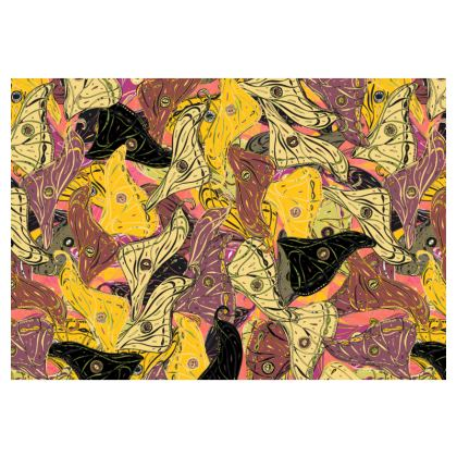 Butterfly Wings (Bold Yellow) Occasional Chair