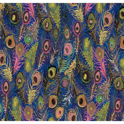 Peacock Feathers (Bold Blue & Pink) Tray