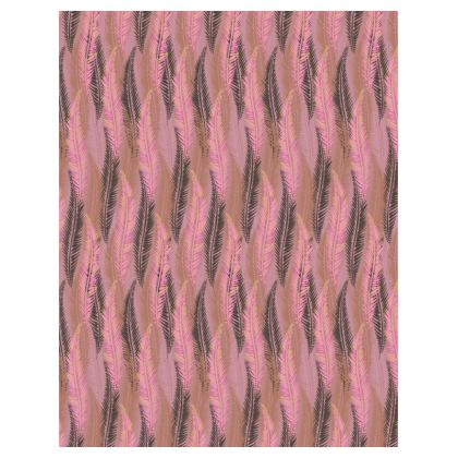 Feathers Stripe (Soft Pink) Tray