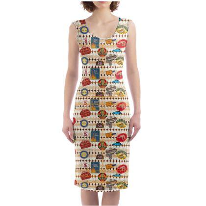 229,- Bodycon-Kleid size S ZEBRA-Schlange #ninibing34