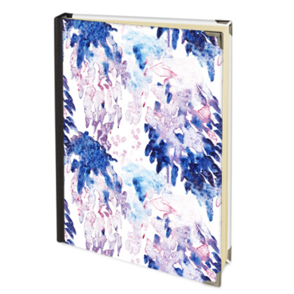 Abstract Printed Address Book