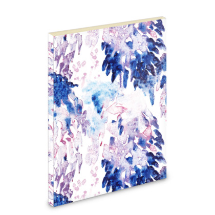 Abstract Printed Pocket Note Book