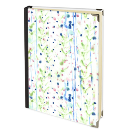 Abstract Painterly Address Book