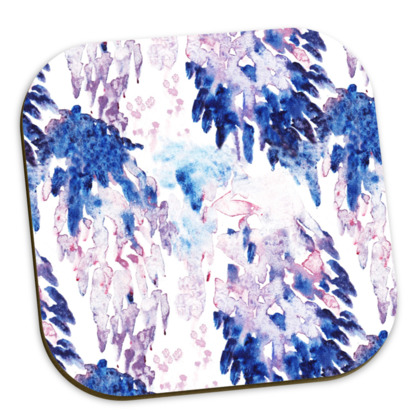 Pack of Painterly Printed Coasters
