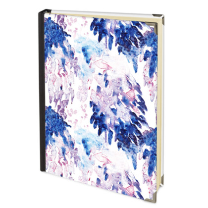 2017 Deluxe Painterly Printed Diary