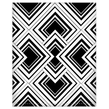Duvet Set Black And White Design