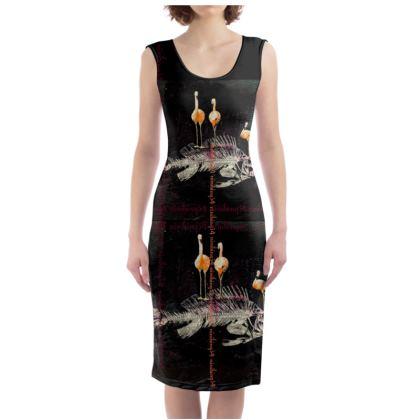 229,- Bodycon-Kleid TRIO INFERNALE size XL #ninibing34