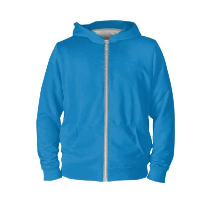 Sports and Fitness -- Basic Blue Hoodie.   © 2019 Joanne Shaw.  All rights reserved.