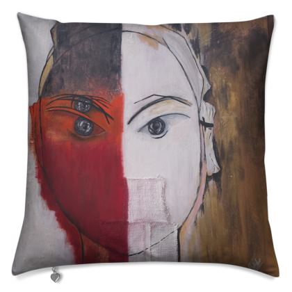 Cushions - Masked woman