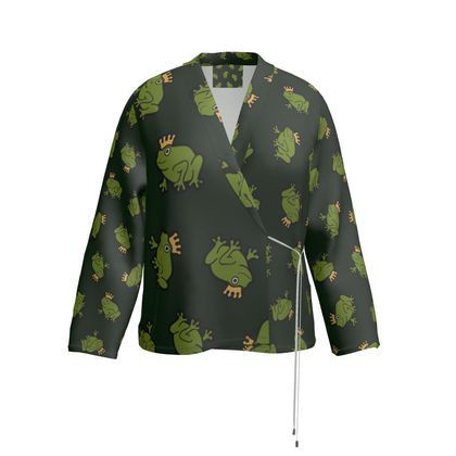Frog Prince Wrap Blazer