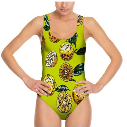 Lemon Squeeze Swimsuit