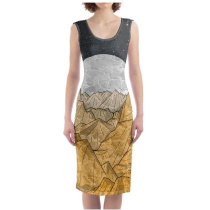 Bodycon Dress - Copper Mountains