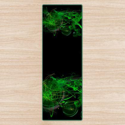 YOGA MAT - YOGAMATTA - Green caos