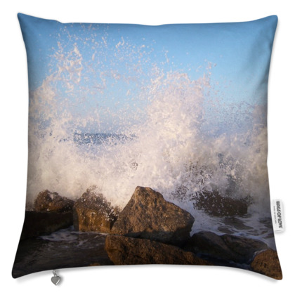 Ocean Photography Cushion