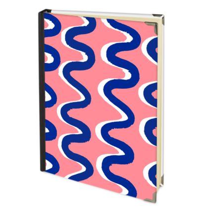 Hello There First Impressions Journal in Blue Wiggle