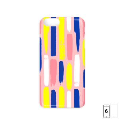 Hello There First Impressions iPhone 6/6 Plus Case in Painted Stripe