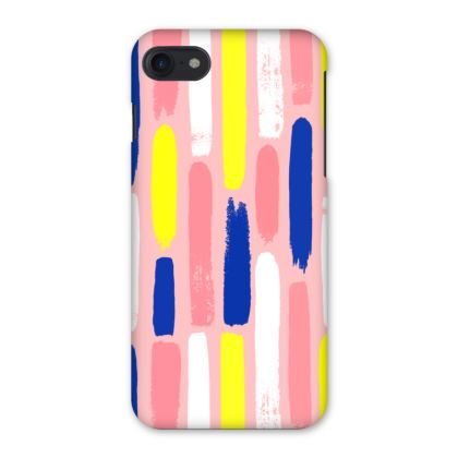 Hello There First Impressions iPhone 7 Case in Painted Stripe