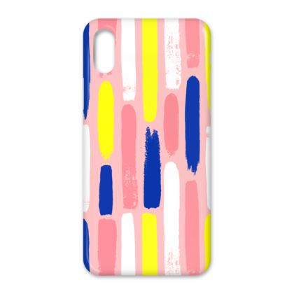 Hello There First Impressions iPhone X Case in Painted Stripe