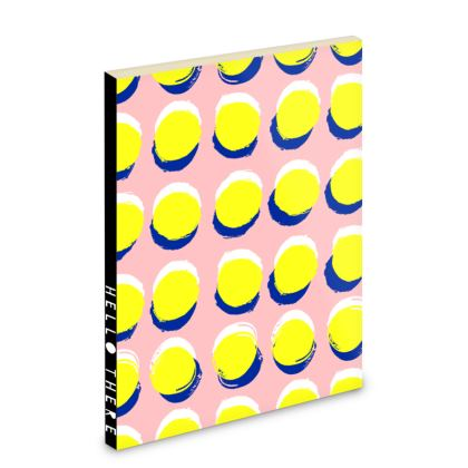 Hello There First Impressions Pocket Notebook in Yellow Spot