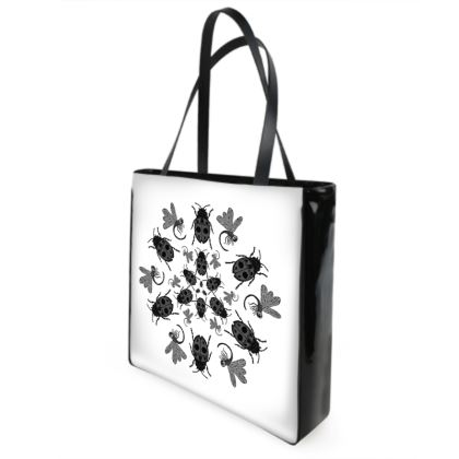 Ladybirds & Dragonflies Shopper Bag