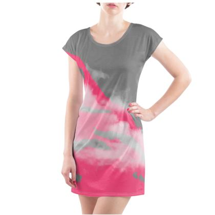MIAMI HEAT Tunic T Shirt Dress