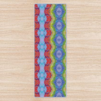Rainbow Chakra Stripe Yoga Mat