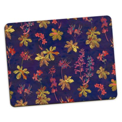 Blue Geraniums Placemats