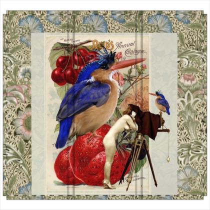 Watch The Birdie 3 Panel Folding Screen