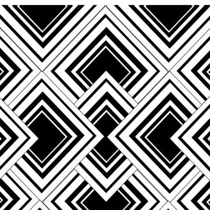 Socks Black And White Art Deco Design