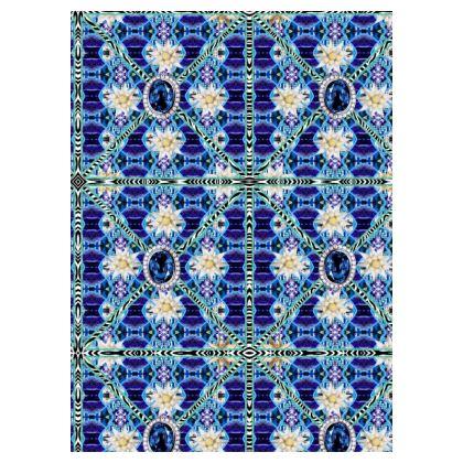 49,- Socken Blue Saphire mit Edelweiß ninibing34's Bavaria Collection 36-39