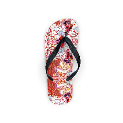 79,- Flip Flops 36 - 39  Pearls & Corals #ninibing34