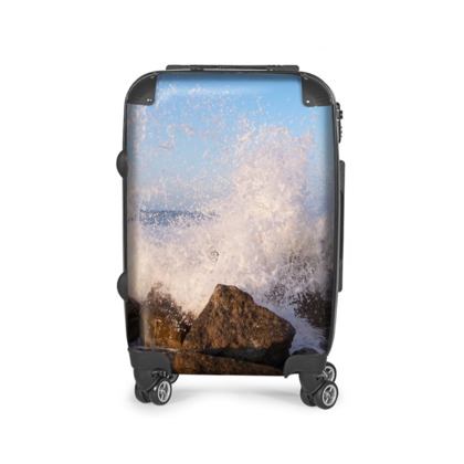 Ocean Photography Design Suitcase