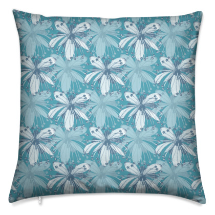 Cushions - Lime Flower