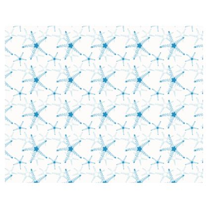 Sea Stars in Aqua Blue Collection Espadrilles