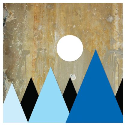 PEAKS AT NIGHT, zip-top-handbag