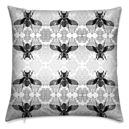 Stag Beetle Cushion
