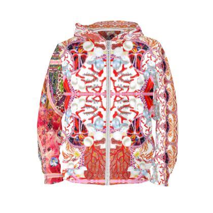 Hoodie Pearl & Corals size S #ninibing34 #ninibing34 #hoodie