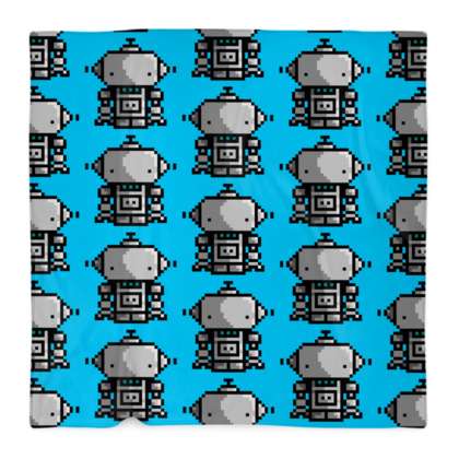 LARGE ROBOTO BLANKET