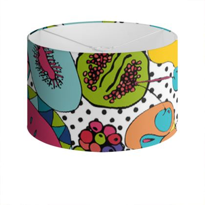 Drum Lamp Shade - Tutti Frutti