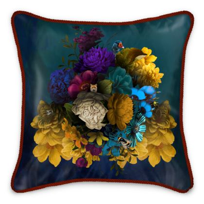 Mother Goose Silk Cushions