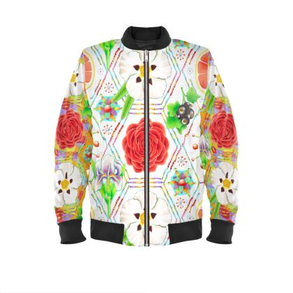 4160 Tuesdays Ladies Bomber Jacket #3