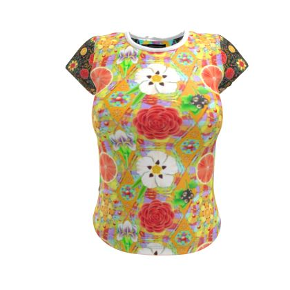 4160 Tuesdays Ladies Cut and Sew T Shirt #3