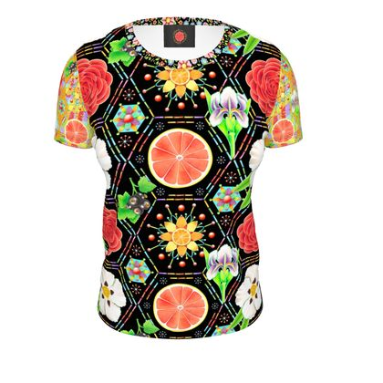 4160 Tuesdays Ladies Cut and Sew T Shirt #4