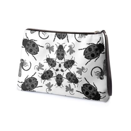 Ladybirds & Dragonflies Clutch Bag