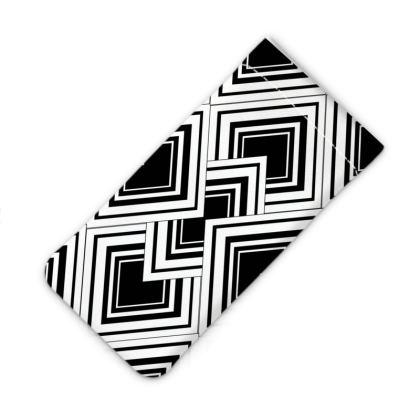 Phone Case Art Deco Design Black And White