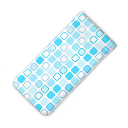 Retro Art Design Blue iPhone Slip Case