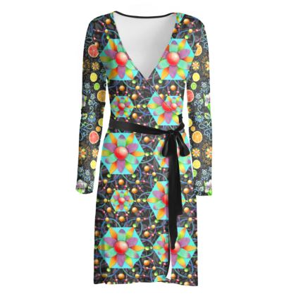 4160 Tuesday Wrap Dress #1