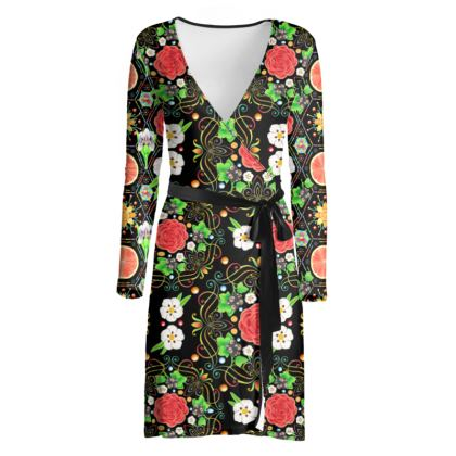 4160 Tuesdays Wrap Dress #3